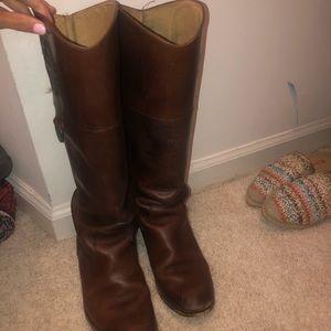 Frye Monogram Boots